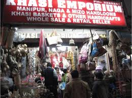 Emporiums selling handicrafts in Shillong