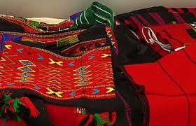 Ethnically rich Naga Shawls