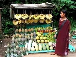Juicy Pineapples in Shillong