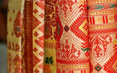 Assam/Muga Silk sarees @Guwahati