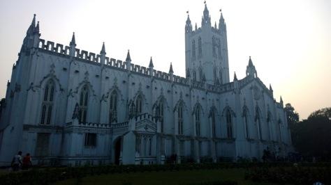 St' Paul's Cathedral in Kolkata