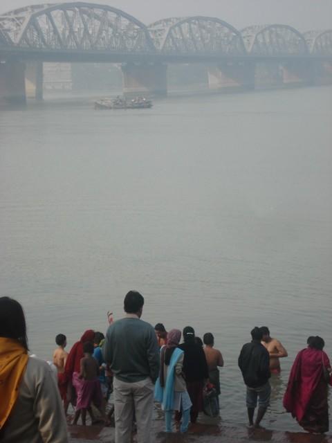 Bathing Ghat @Dakhineshwar Temple